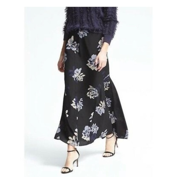 Banana Republic Dresses & Skirts - Banana Republic Floral Flounce Maxi Skirt Sz.00P